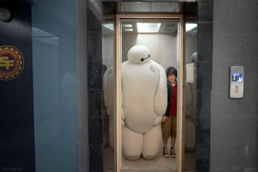 Big Hero 6: Let's Take The Stairs by behindinfinity