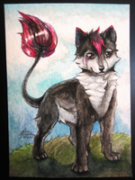 ACEO card commission by Capukat