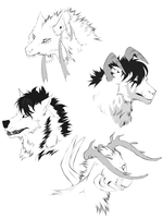 Sketches Commission- Batch 2 by ArthasElric
