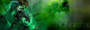 Guild Wars 2 - Necromancer Forum sig by SeanCoey