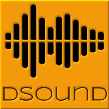DSOUND Logo 3D by paradigm-shifting