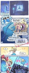 Frozen Comic By Gashi Gashi Korean translation by cokass