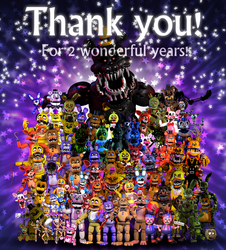 Thank you! for 2 Years! by EverythingAnimations