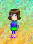 MASCOT!Frisk (just I DRAWING IT!!!! :3) by YuliaRabbid
