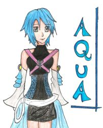 Aqua in color by cloudxsquall1