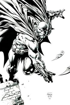 DAVID FINCH HOMAGE BATMAN COMMISSION ~ 2013 by Ray-Snyder