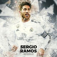 Sergio Ramos Real Madrid by hemalaya