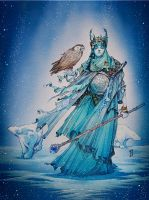 The Snow Queen by Shiantu