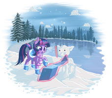 Snowflake Surprise by KittehKatBar