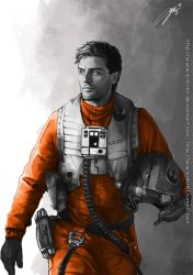 Poe Dameron by Brilcrist