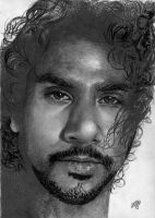 Naveen Andrews portrait HQ by th3blackhalo