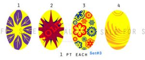 Egg AdoptablesSet3_YellowGroup: 1 pt Each:OPEN by momo-pie