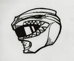 Green Ranger Helmet by Windam