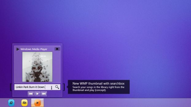 Windows 8 redesigned | WMP Concept by Softboxindia