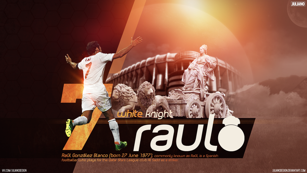Raul Gonzalez The White Knight by julianodesign