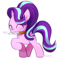 Starlight glimmer kill you with cute face ! by Marenlicious