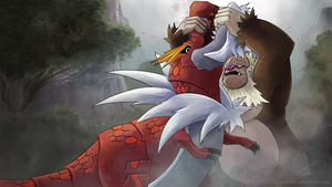 SlaKONG vs Tyrantrum