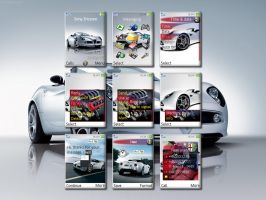 Alfa 8C Spider theme for k800 by hacvf