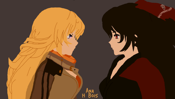 Screenshot Redraw - Yang and Raven by anahbois