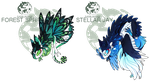 SnapTrap: Forest Sprite + Stellar Jay ( Closed!) by OnionGrump