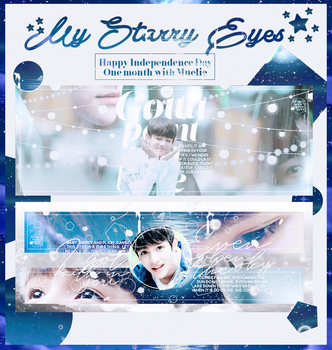 [PSD] PACK COVER I: MY STARRY EYES by TheChevalierCrescent