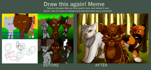 Draw This Again: Tigerstar's Chance by bookfangeek