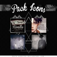 Pack Icons Rivaille by Mato-Kuroi26
