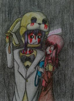 FNAF - One of us, without a suit by PaigeLTS05
