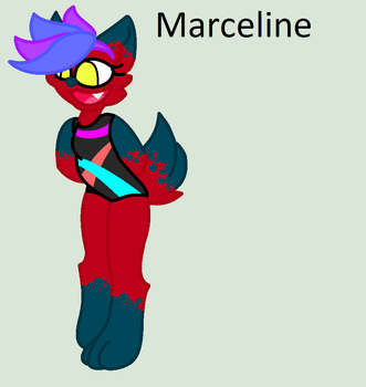 Character Introduction: Marceline by MonsterMomma