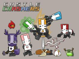 Castle Crashers by calfrills