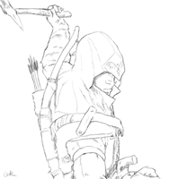 Assassin's Creed III Connor by Assasserik