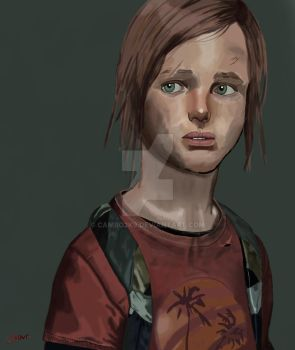 Fan Art: The Last of Us: Ellie by Cambo2k9