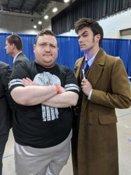 The Tenth Doctor and Me by thieviusracoonus