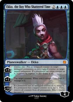 Ekko the Boy Who Shattered Time by Canido