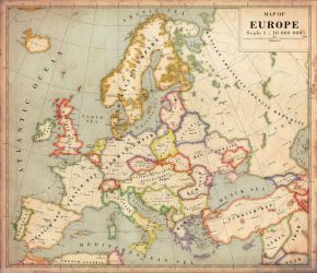 Alternate History Map of Europe v2 by Regicollis