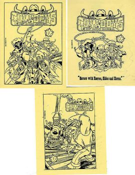 Wild West C.O.W-Boys Of Moo Mesa Comics Concepts by CCB-18