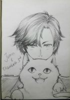 Jumin and Elly by CodeMiwa