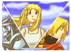 FMA-Let it all out by BrokenRomance3