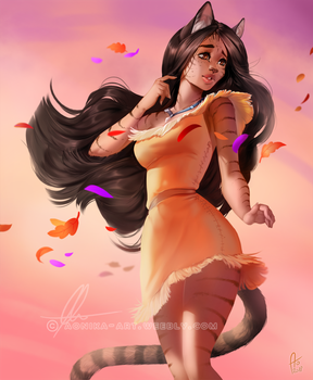 [patreon pinup] Pocahontas by AonikaArt