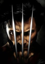 X-Men Origins: Wolverine by hohenheim54