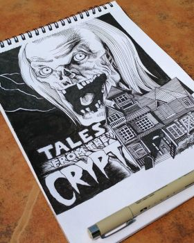 The Crypt Keeper by horizonred