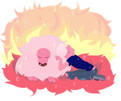 Lion and Lars by MeruRei