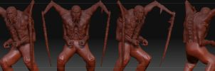 3D Slasher -Sculpted- by The-Brade