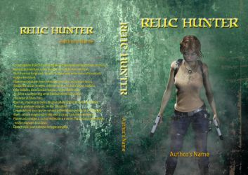 Premade Book cover: Relic Hunter by Anglu