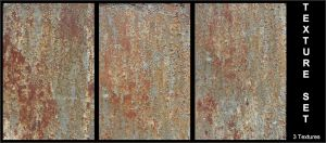 Texture Set - Rusty Metal by AGF81