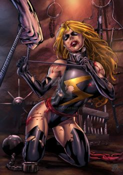 Ms Marvel Trapped by spidey0318