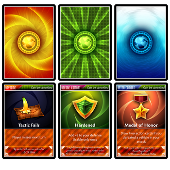 Back And Action Cards by Volcanic-Penguin