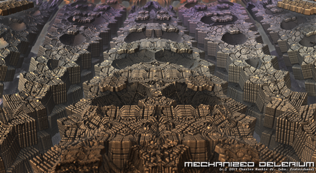 mechanized delerium by fraterchaos
