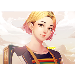 13th Doctor by Dangaso