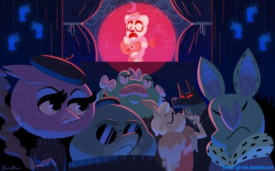 Animal Crossing After Dark by DrewGreen